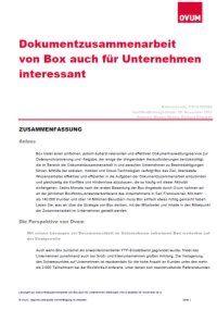 Dokumentverwaltungsservice zur Dateisynchronisierung