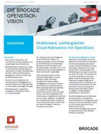 Skalierbare, umfangreiche Cloud-Netzwerke mit OpenStack