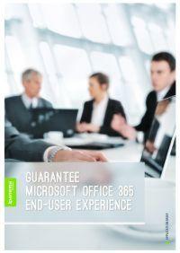 Komfort für Endbenutzer mit Microsoft Office 365