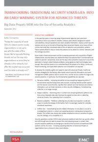 Big Data befördert SIEM ins Zeitalter der Sicherheitsanalytik