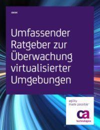 Ratgeber zur Überwachung virtualisierter Umgebungen