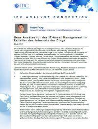 IT-Asset Management im Zeitalter des Internets der Dinge
