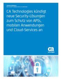 Schutz von APIs, mobilen Anwendungen und Cloud-Services