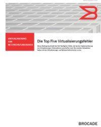 Die Top 5 Virtualisierungsfehler