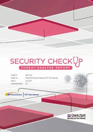 SECURITY CHECK UP