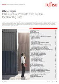 Infrastrukturprodukte - Optimal für Big Data