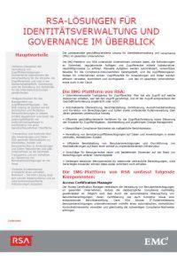 Lösungen für Identitätsverwaltung und Governance