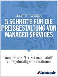 5 Schritte für die Preisgestaltung von Managed Services