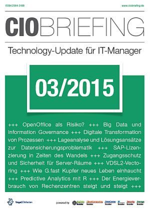 CIO Briefing 03/2015