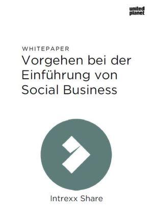 Vorgehen bei der Einführung von Social Business