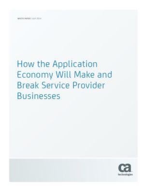 Stärkt das Applikationszeitalter das Geschäftsmodell der Service-Provider?
