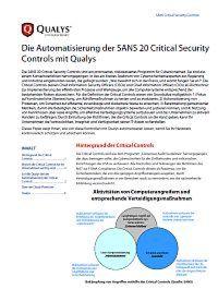 Automatisierung der Critical Controls