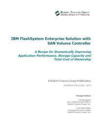 FlashSystem Enterprise-Lösung mit SAN-Volume-Controller