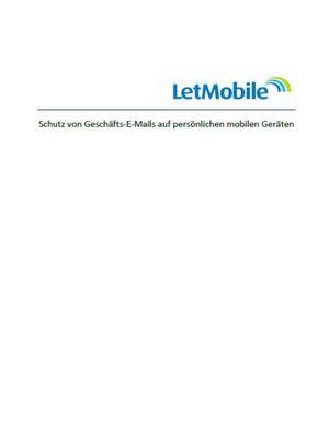 Geschäfts-E-Mails auf persönlichen mobilen Geräten
