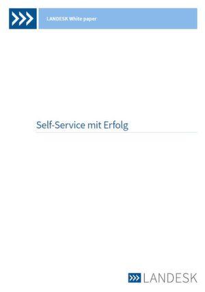 Self-Service zum Erfolg führen