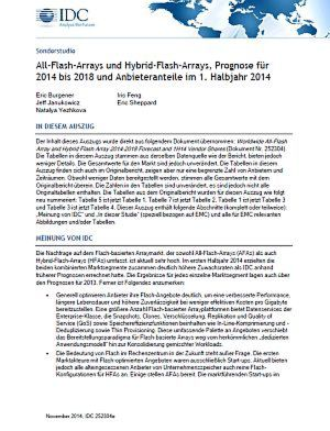 All-Flash-Arrays und Hybrid-Flash-Arrays