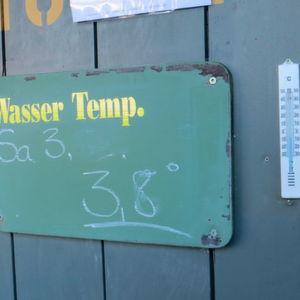 Frisch und gesund: die Temperaturen zur Eisschwimm-WM am 6. Januar 2017