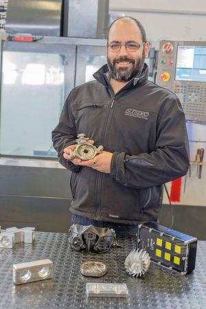 Mit der Haas-Maschine will Subspec Kontrolle über Qualität seiner Produkte im Haus haben.