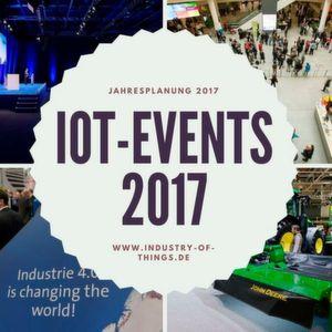 Wo trifft sich die IoT-Branche 2017?