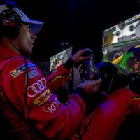 Erstes Formel-E-Rennen am Simulator