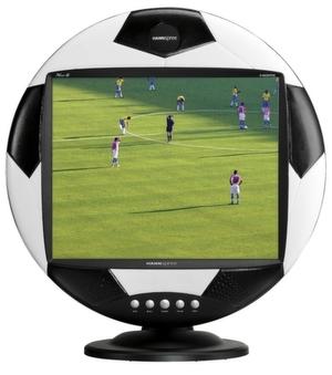 Das LCD-Display Hannssoccer sucht treue Fans.