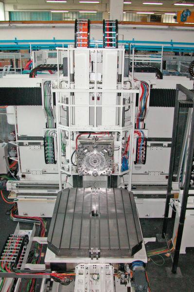 der drehtisch atu 2000 ist eine zentrale komponente in der mcm werkzeugmaschine von premium. Black Bedroom Furniture Sets. Home Design Ideas