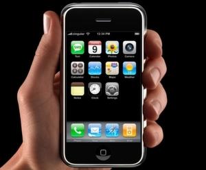 Ab Montag im Sonderangebot: Das Iphone mit acht Gigabyte Speicher.