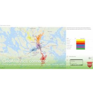 BI-Plattform um Geo-Analytics-Funktionen erweitert