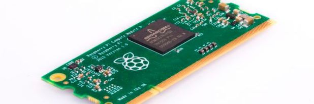 Compute Module 3: Leistungsfähiger Industrie-Raspberry-Pi im SODIMM-Format