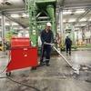 Industriesauger hält Produktion und Logistik bei Polycarbonat-Hersteller sauber