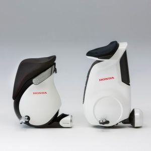 Honda: Steht auch ohne Ständer