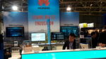 Huawei demonstrierte Software-defined Networking in einer Cloud Fabric.