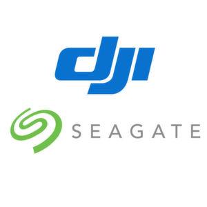 Drohnenhersteller DJI und der Speicherspezialist Seagate sind nun Partner.