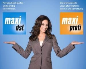 Die aus der M-Net-Werbung für den Privatkundenbereich bekannte »Maxi« soll künftig auch Geschäftskunden anlocken.