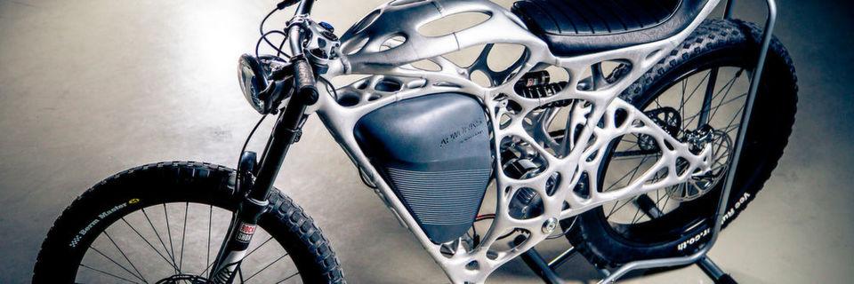 Der Light Rider mit einem Exoskelett aus dem 3D-Drucker