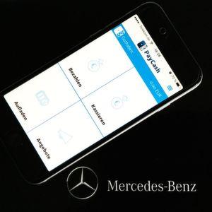Mercedes führt Bezahlung per Smartphone ein