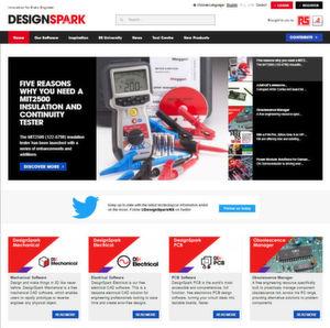 RS Components veröffentlicht neue Version von Design-Spark