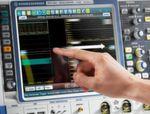 Eingabe: Anwender erwarten heute eine intuitive Bedienung mit Touch- und Multitouch-Konzepten wie beim Oszilloskop R&S RTO.