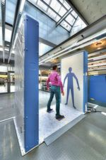 Messtechnik: Der Körperscanner ähnelt in der Funktion eines Vektornetzwerkanalysators.