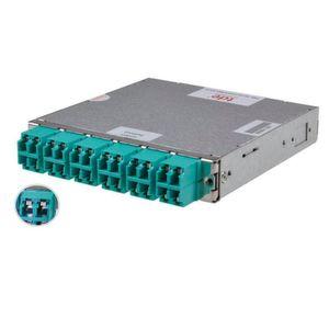 LWL-Module: Staub- und Laserschutz integriert