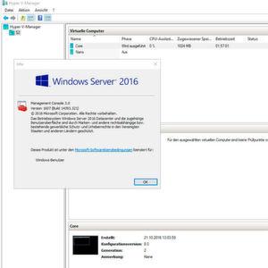 Hyper-V unter Windows Server 2016