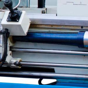 Robuster Spindelschutz bis 4500 mm