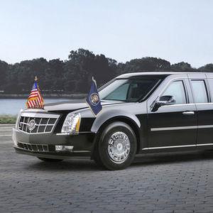 """""""The Beast"""": So schützt sein neuer Dienstwagen Donald Trump"""