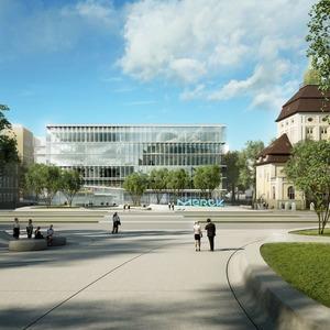 Merck feiert Richtfest für zukünftiges Innovationszentrum