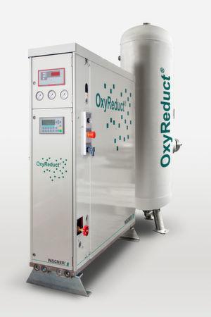 """Die Produktlinie """"Oxyreduct P"""" von Wagner lässt sich laut Hersteller platzsparend kaskadieren."""
