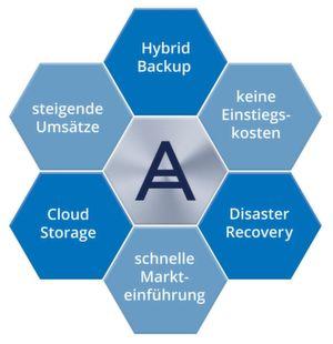 Die Kernelemente von Acronis