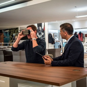 Jaguar Land Rover: Virtual Reality im Autohaus