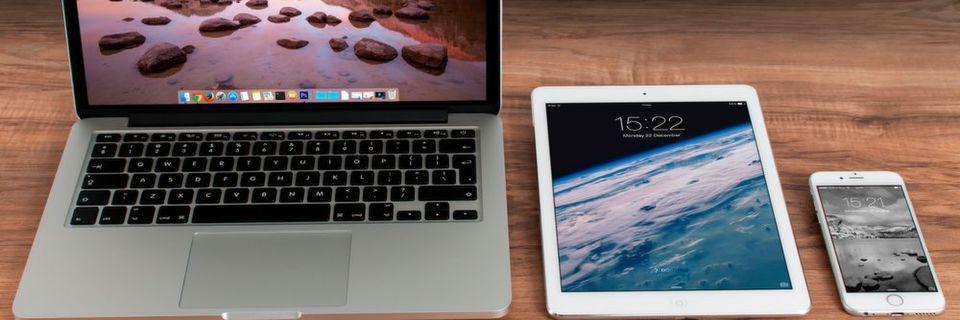 Apple: Im Januar 2017 erhalten alle Produkte ein Update.