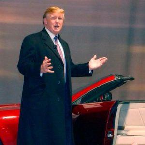 Händler in Waghäusel versteigert Mercedes von Donald Trump