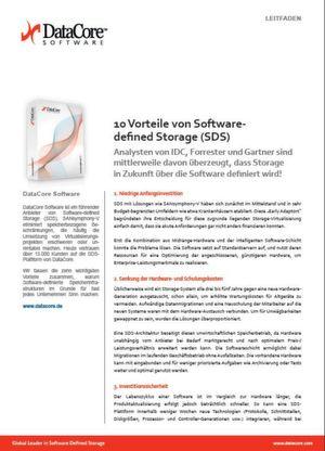 10 Vorteile von Software-defined Storage (SDS)